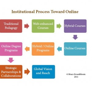 Institutional Process Toward Online