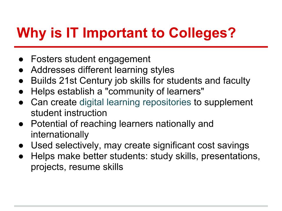 Instructional Technology A Sea Too Wide Envisioning Online Learning